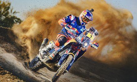 Todo listo para KTM en el Dakar 2017