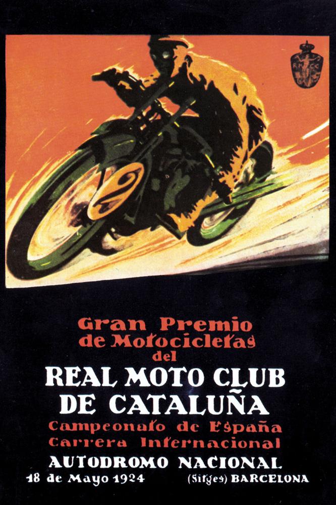 Cartel Circuito Terramar 1924