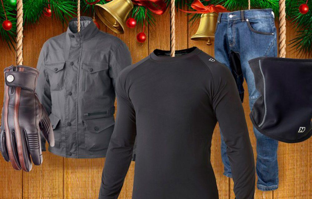 Equipamiento de moto Hevik para regalar en Navidad