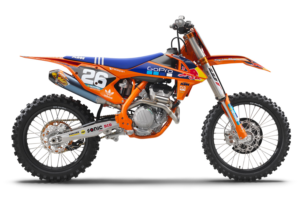 KTM 250 SX F Factory Edition