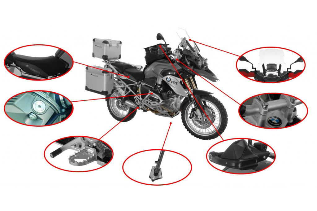Pack Touratech Confort para BMW R1200GS