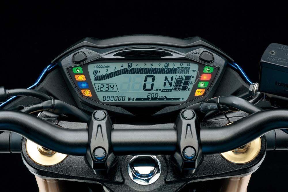 Cuadro de instrumentos de la Suzuki GSX S 750