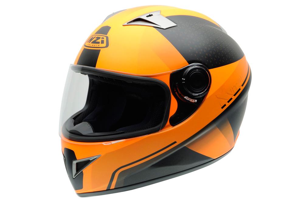 Casco Vital X Vit de NZI naranja