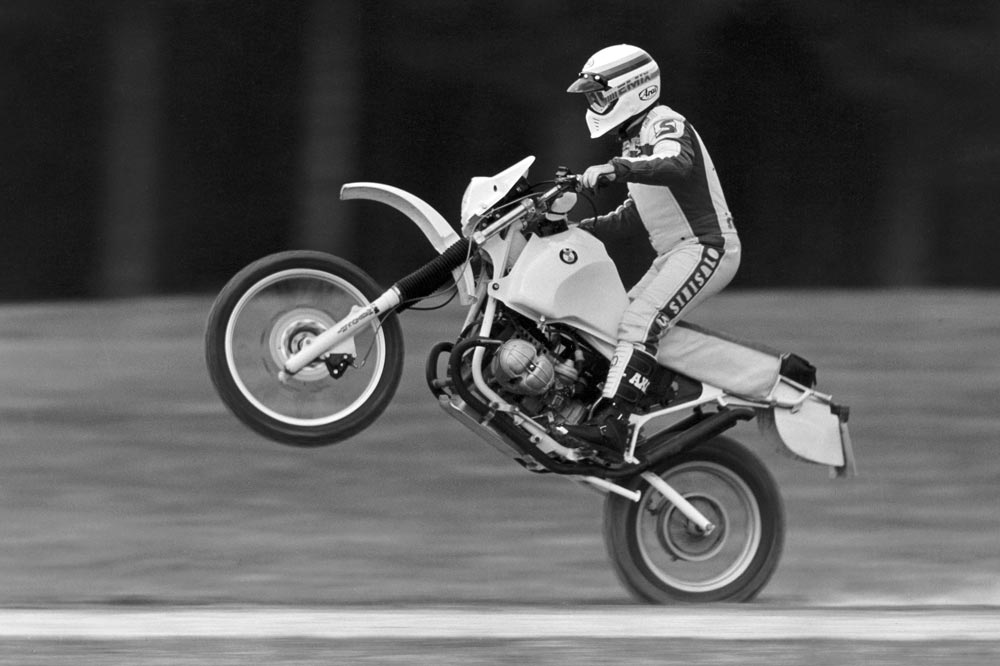 Gaston Rahier con BMW