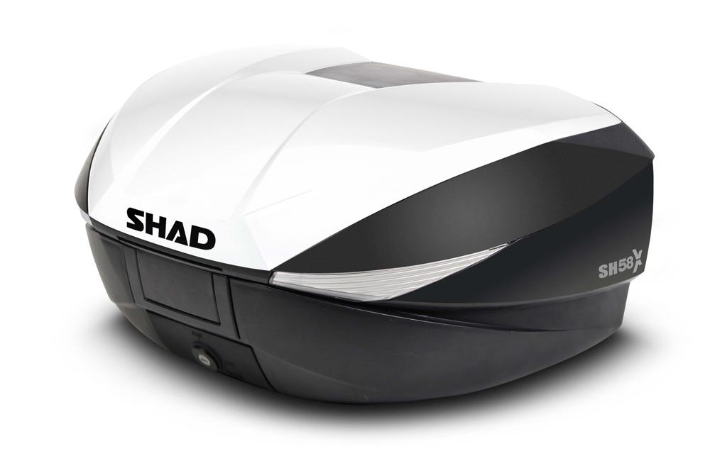 Maleta expandible SH58X Blanca SHAD