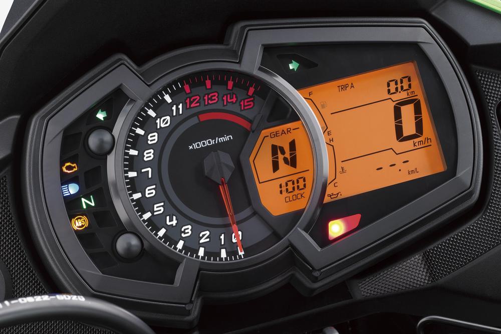 Instrumentacion Kawasaki Versys 300