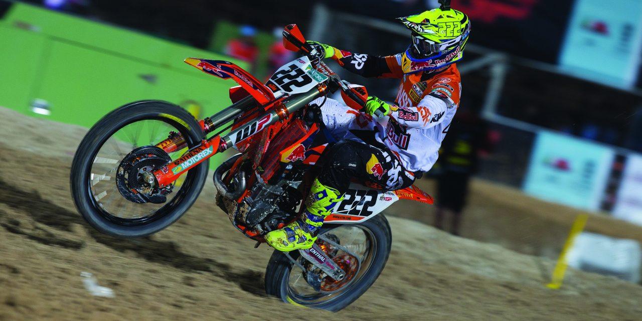 KTM se estrena con dobletes en el Mundial de Motocross 2017
