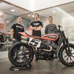 Harley-Davidson Factory presenta a su nuevo equipo de competición para las carreras Flat-Track