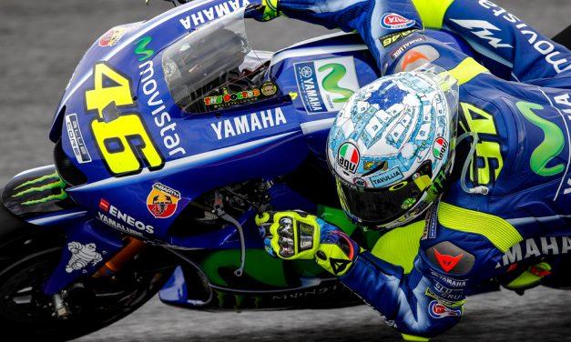 Casco AGV Pista GP R de Valentino Rossi