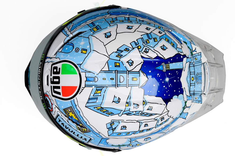 Casco AGV Winter Valentino Rossi
