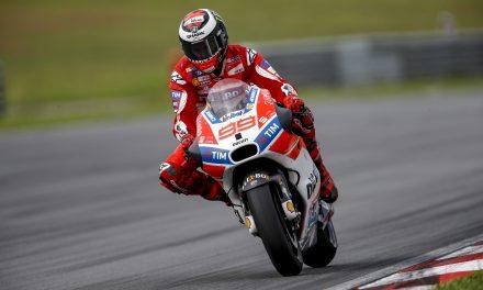 Jorge Lorenzo remonta con Ducati en los entrenamientos de MotoGP