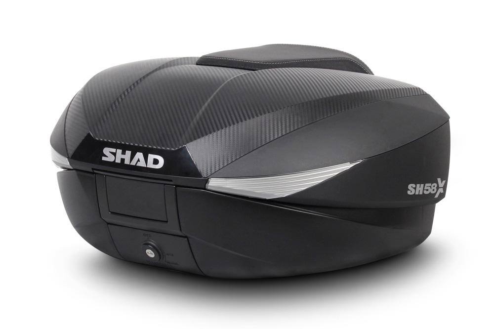 Maleta moto expandable SH58X de Shad