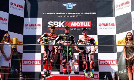 Jonathan Rea, doblete en Australia SBK 2017