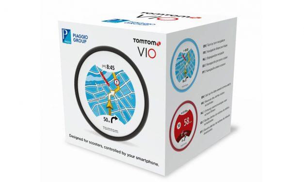Edición especial Tom Tom Vio para Piaggio
