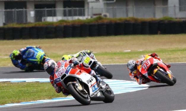 Viñales a la cabeza tras finalizar pruebas de MotoGP en Australia