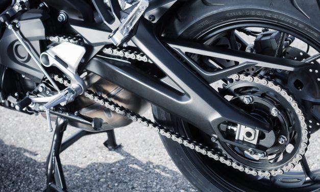 La cadena de nuestra moto