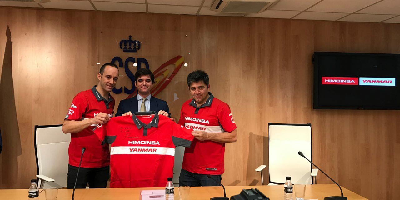 Gerard Farrés recibe las felicitaciones del Consejo Superior de Deportes