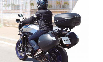Maleta para moto Expandable SH58X de SHAD