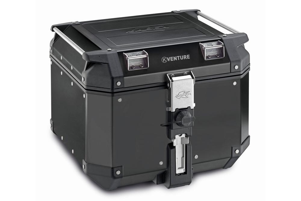 Maleta trasera K-Venture de aluminio negro 42 litros