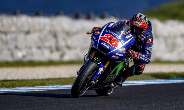 Viñales, por delante de Márquez el segundo día de entrenamientos en Australia