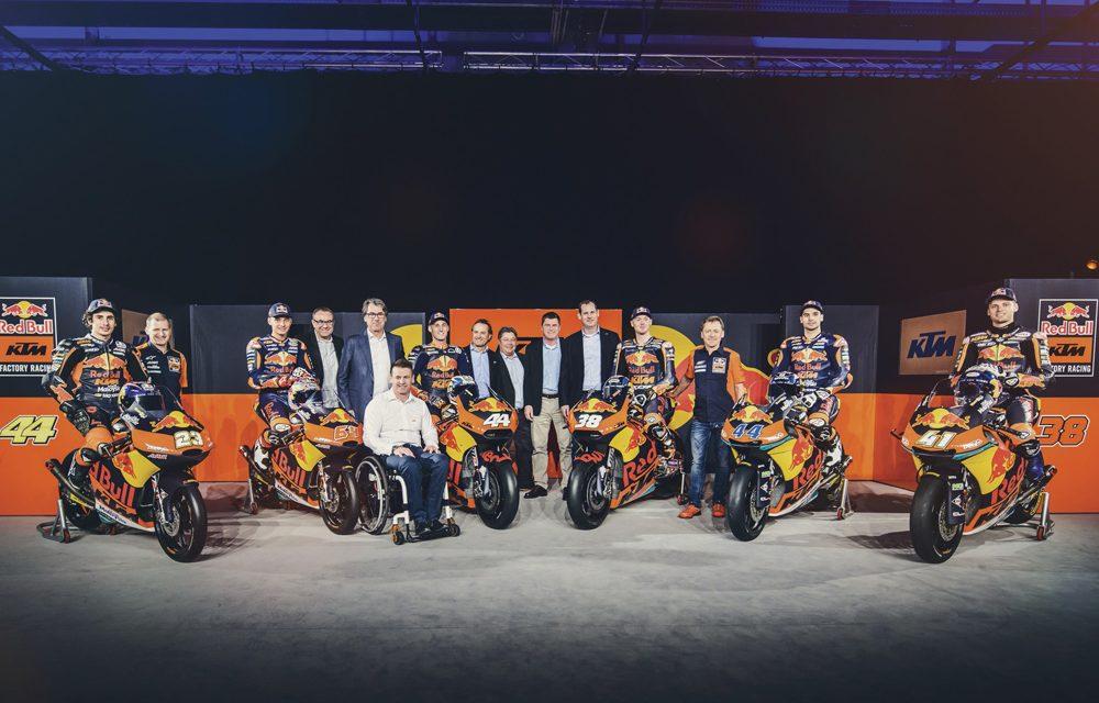 KTM y Red Bull comienzan una nueva era en MotoGP