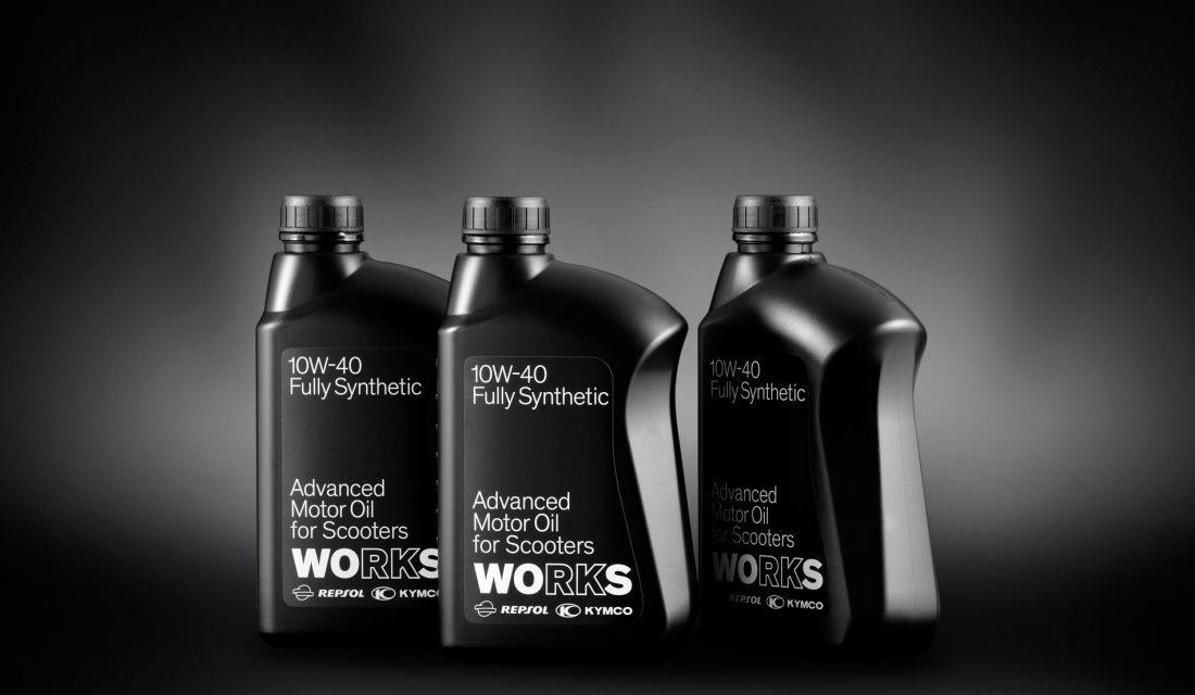 KYMCO y Repsol lanzan Works, un lubricante para scooters