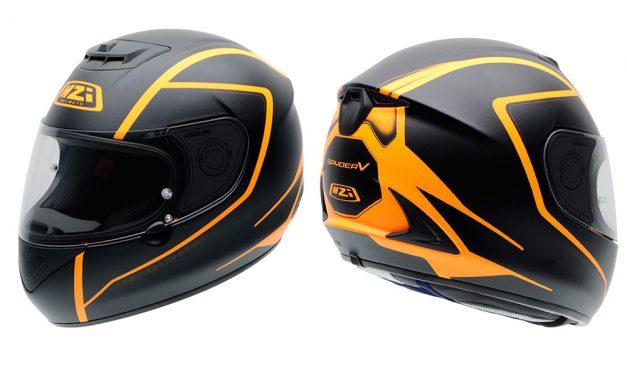 Nuevas decoraciones para el casco Spyder V de NZI