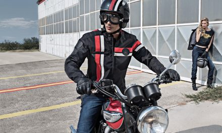 Chaqueta de moto Vintage de Hevik