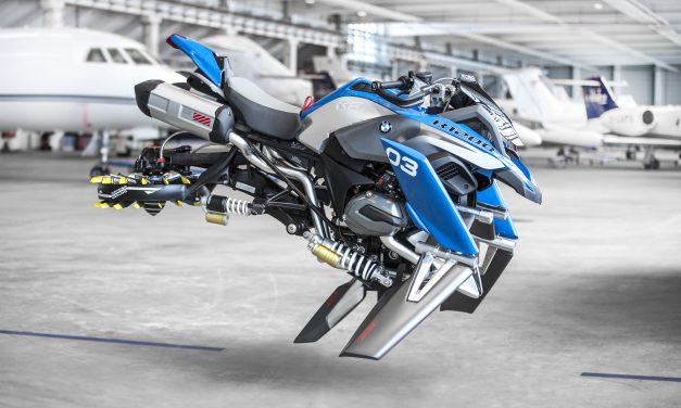 Hover Ride, la increíble moto voladora de BMW y LEGO