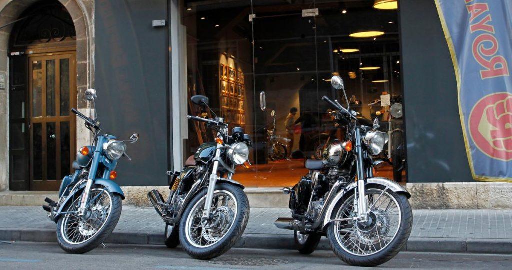 Royal enfield inaugura tienda en palma de mallorca club for Motos palma de mallorca