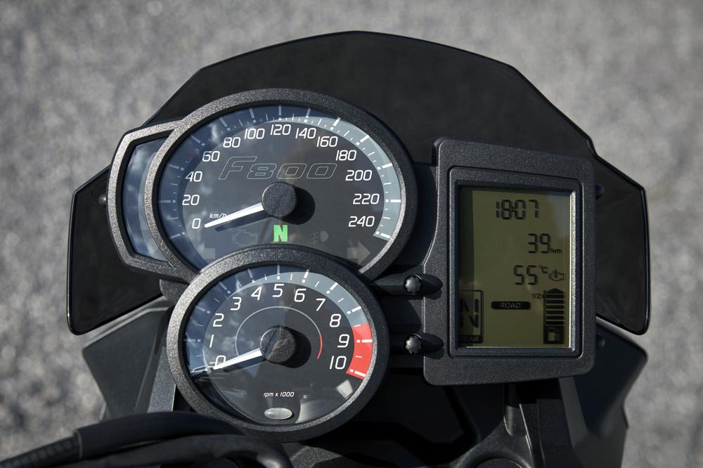 Cuadro de instrumentos de la BMW F 800 R