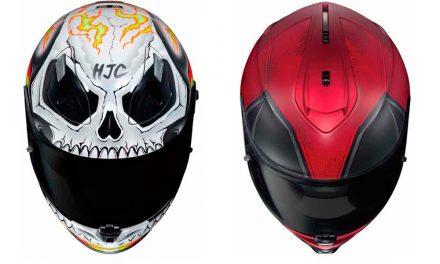Nuevos Cascos Marvel Deadpool y Ghost Rider de HJC