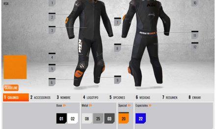 Personaliza tu mono de cuero RSX de KTM