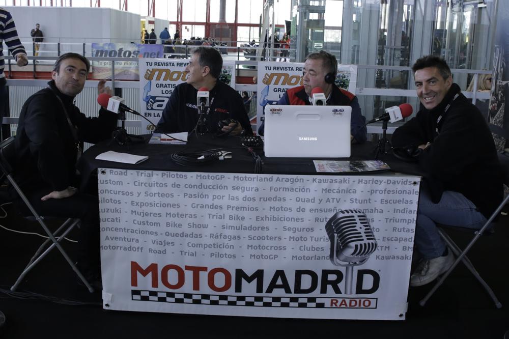 Entrevista Radio Salón Moto Madrid