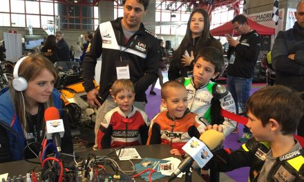 Escuela de Pilotos Z Riders de María Barbero, en Moto Madrid