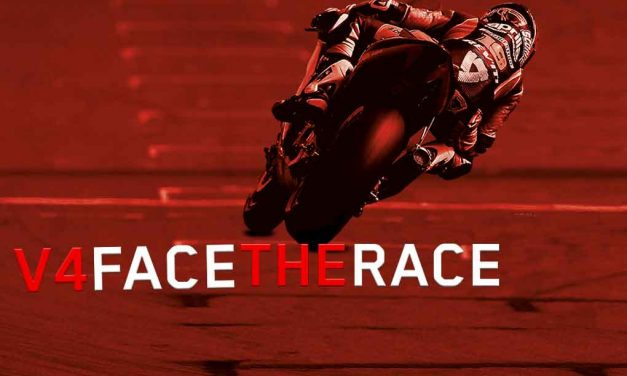 "Aprilia viste tu pasión con ""Face The Race"""