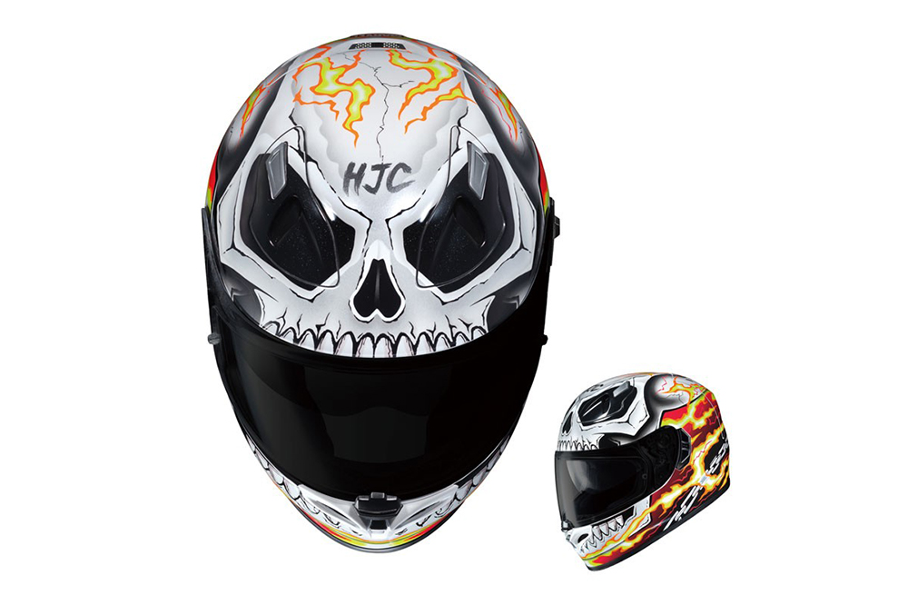 Casco Ghost Rider Marvel de HJC