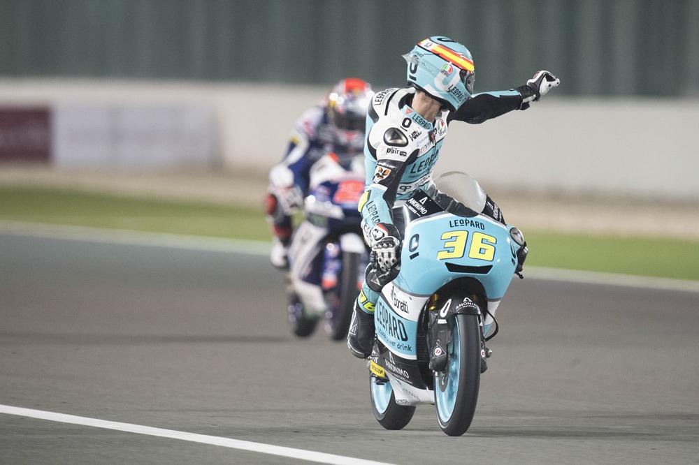 Joan Mir, victoria en el GP de Qatar Moto3