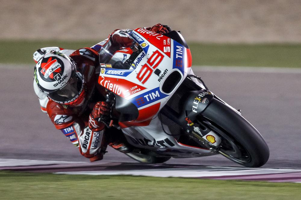 Jorge Lorenzo ha mejorado mucho en los ultimos entrenamientos MotoGP