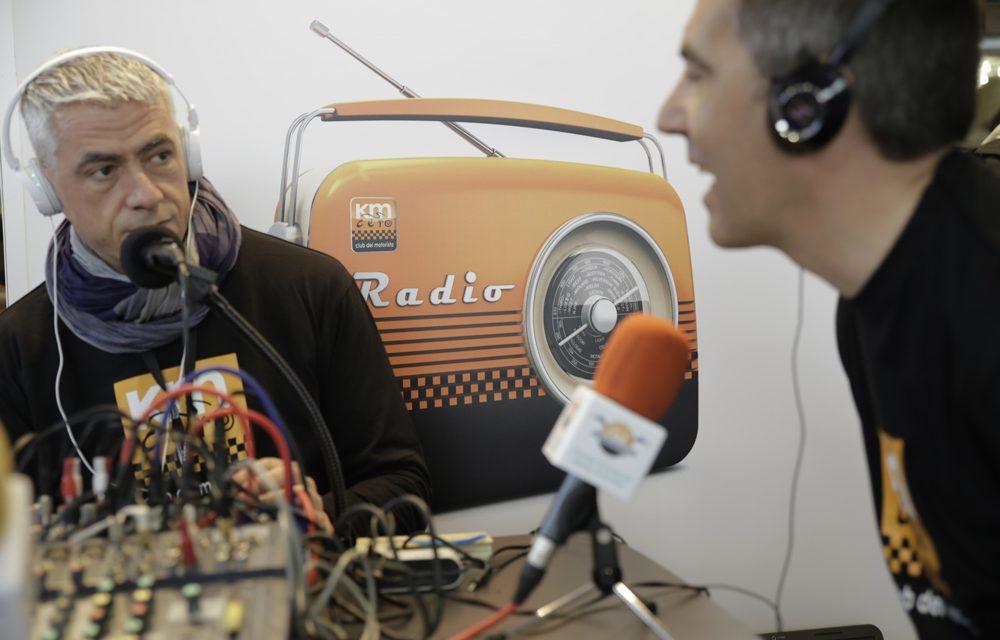 Radio y Miquel Silvestre en el Salón Moto Madrid