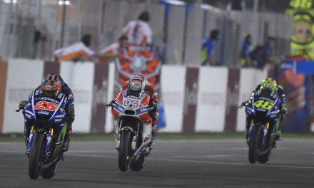 MotoGP: Viñales comienza en el GP de Qatar por todo lo alto