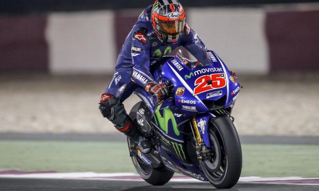Viñales cierra pretemporada de MotoGP con los mejores tiempos