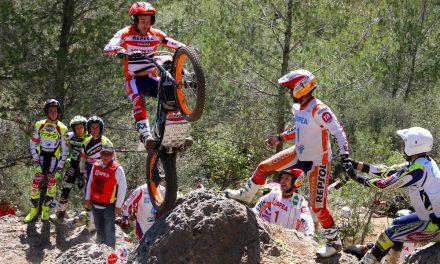 Victoria de Bou en el Campeonato de España de Trial en Mallorca