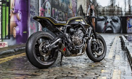 Yamaha XSR700 Yard Built de Rough Crafts