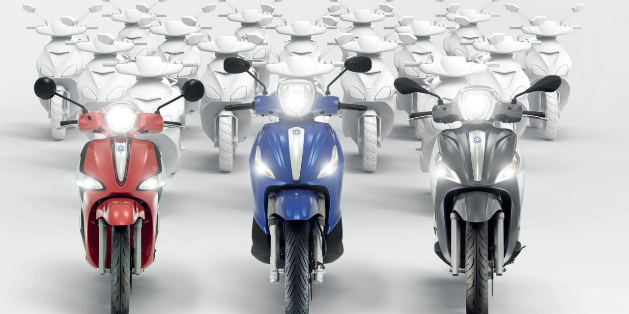 Nuevas promociones Piaggio: scooter de rueda alta