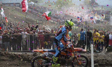 Cairoli y Prado hacen historia en el Mundial de MX por Trentino
