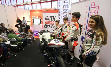 Chicho Lorenzo y la Youth Riders Cup