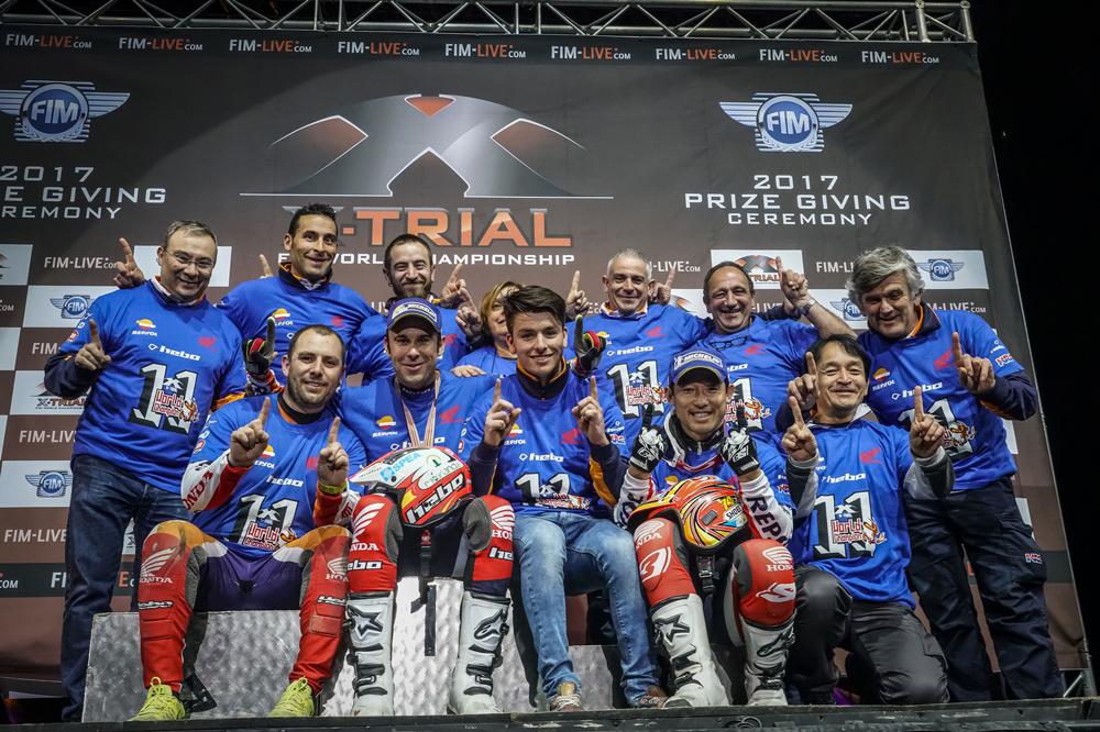 Equipo Montesa Honda Repsol Trial