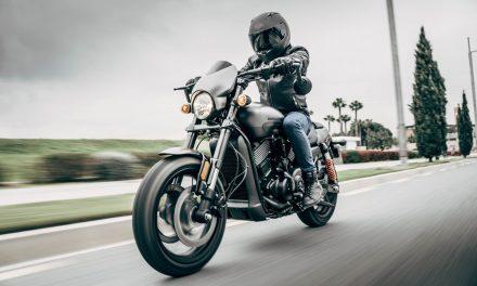 Harley Davidson Street Rod 2017 en vídeo