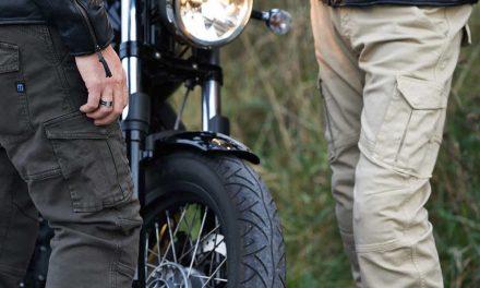 Pantalones vaqueros con protecciones para moto